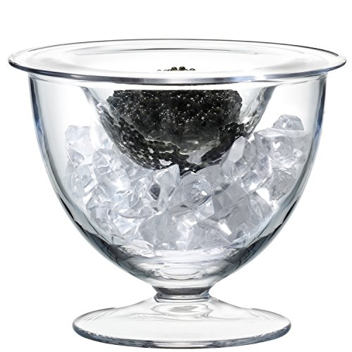 LSA International - Serve - Set de caviar, Ø14cm Transparente