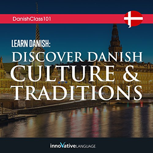 Learn Danish audiobook cover art