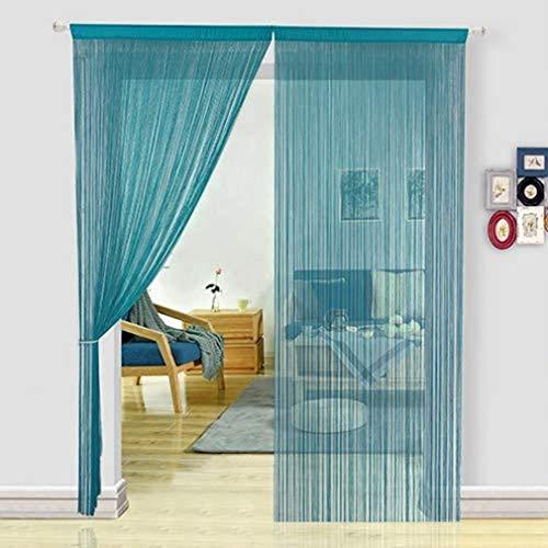 Anti-fly Home Gordijn, Handgemaakte Decoratieve Koord Polyester Deuren en Ramen Anti-Fly Screens Voor Window Care en Home Decoration(90 * 200cm)
