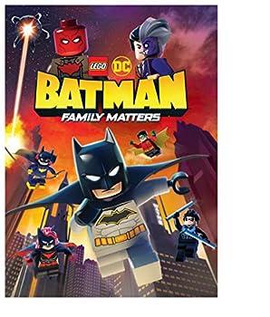 LEGO DC  Batman  Family Matters DVD  No Premium
