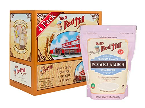 Bob's Red Mill Resealable Gluten Free Starch, Potato, 22 Oz (4 Pack)