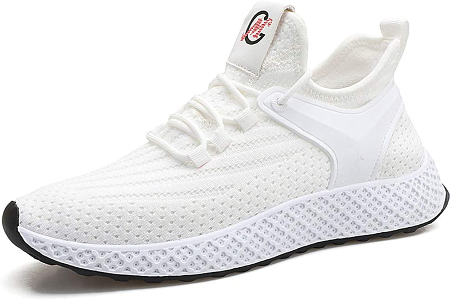 Professional Trainers shoes Sports Trendy Sneakers Black Casual shoes For Women,White,40