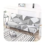Surprise S Printed Sofa Bed Cover Universal Size Armless Tight Wrap Resistant Elastic