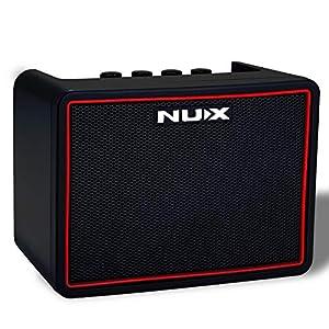 Asmuse – Amplificatore per chitarra elettrica, 3 W di potenza, altoparlante Bluetooth, wireless, mini ampli pratico e multifunzione – NUX-3W