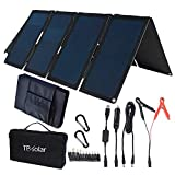 TP-solar 60W Portable Foldable Solar Panel Charger Kit Dual USB 5V + 18V DC Output for Portable...