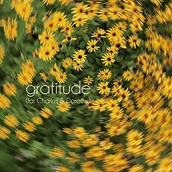 Gratitude (For Charles & Dorothy)