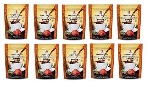 10 Packs DXN Lingzhi Black Coffee Ganoderma 20 Sachets