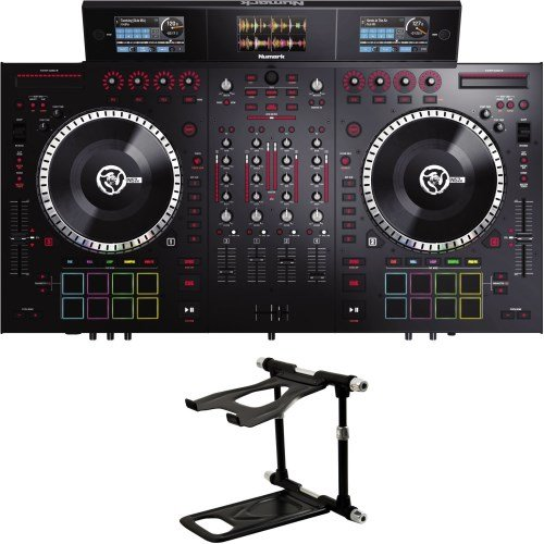 Numark NS7 III DJ Controller + Crane Elite CV5 Laptopständer