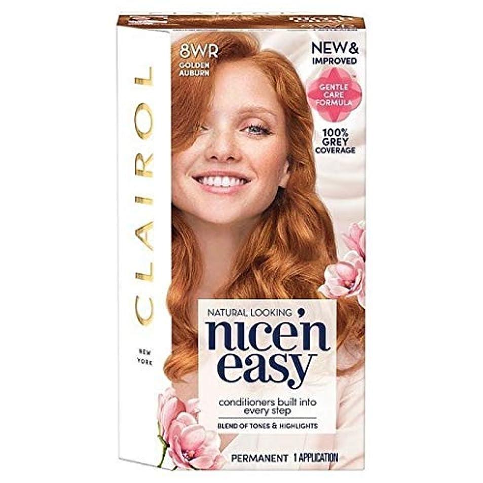 振りかける政治水分[Nice'n Easy] Nice'N簡単8Wr黄金赤褐色 - Nice'n Easy 8Wr Golden Auburn [並行輸入品]