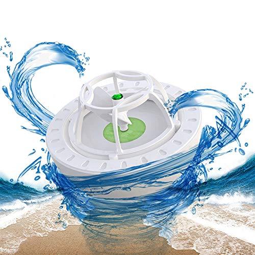 Mini USB Portable Dishwasher,Green Ultrasonic Mini Countertop Dishwasher and Mini Dishwasher Machine for Household Washing Dishes,Vegetable,Fruit