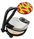 10inch Roti Maker by StarBlue with FREE Roti Warmer - The automatic Stainless Steel Non-Stick...