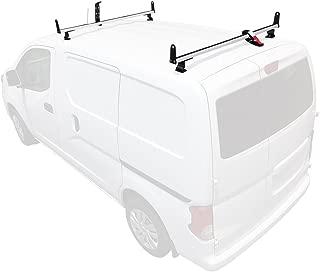 Vantech J2000 2 Bar for Nissan NV200 Ladder roof Rack 2013-On, White
