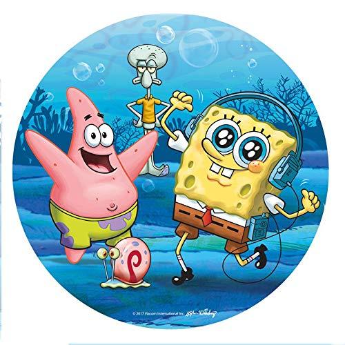 dekora Tortendekoration für Kindergeburtstag, SpongeBob, 20 cm