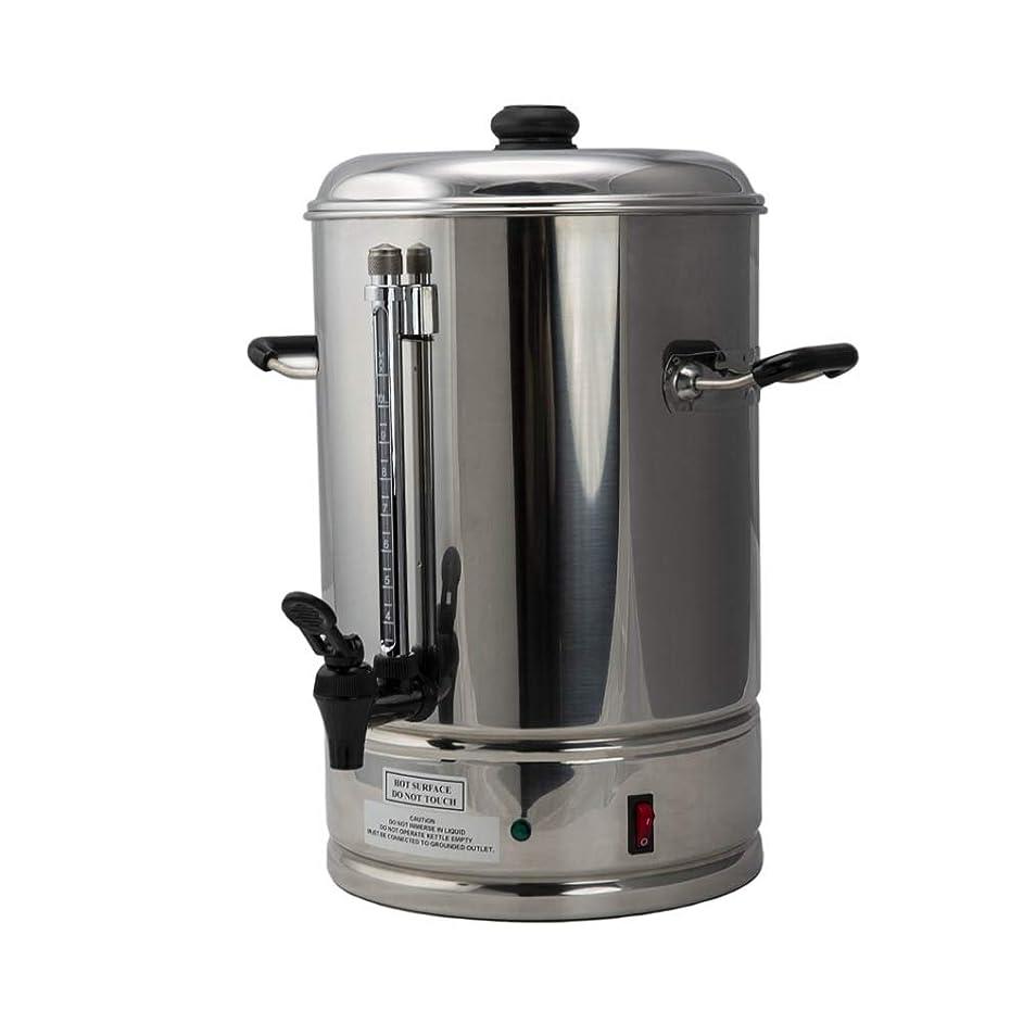 SYBO CP10-TEMP Percolate Coffee Maker, 10-Liters, Metallic