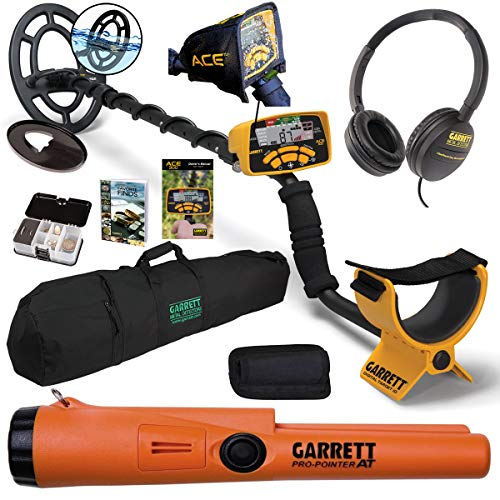 Garrett ACE 300 55th Anniversary Package with 50' Travel Bag