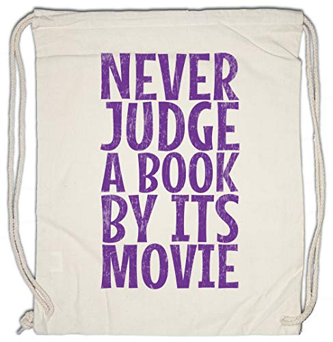 Urban Backwoods Never Judge A Book By Its Movie Sporttas Gym Zak Sportzak Rugzak