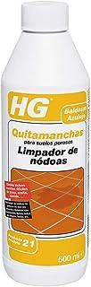 HG 166050130 Profesional porosos 500 ml-eficaz quitamanchas Que Elimina la Grasa y el Aceite de Las baldosas de Suelo, Las losas, la Piedra Natural, el hormigón y el Cemento