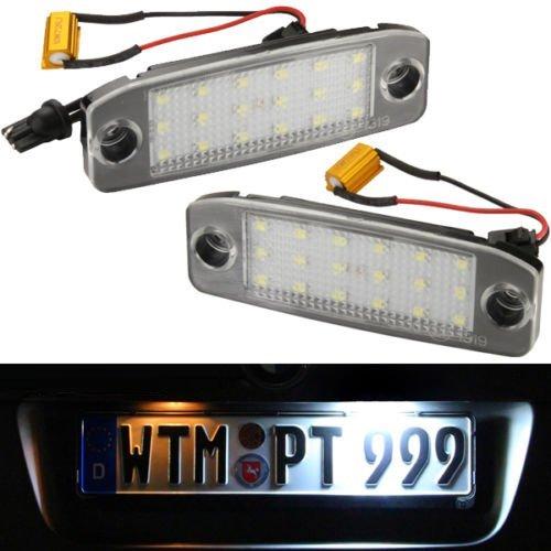 Hyundai i40 CW Kombi (Typ VF) und Hyundai Sonata VI (Typ YF)SET Kennzeichenbeleuchtung LED SMD Kennzeichenleuchten Nummernschild 71701