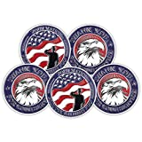 5 Pieces Military Challenge Coins Thank You for Your Service Military Gifts for Men Women for Veterans Day Gifts