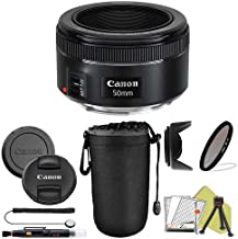 Canon EF 50mm f/1.8 STM Prime Lens ZeeTech Package (Basic Kit)