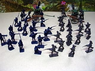 50 Pieces Civil War Toy Soldiers