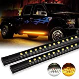 OFFROADTOWN 2pcs 70 Inch Truck Light LED Board Running Light for Extended & Crew Cab Truck...