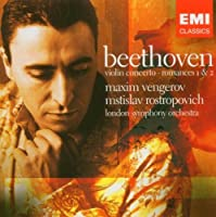 Maxim Vengerov: Beethoven - Violin Concerto; Romances 1 & 2 by London Symphony Orchestra (LSO) (2006-08-02)