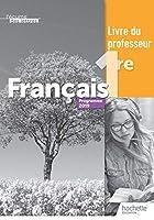 L'ecume des lettres - Francais 1re - Livre du professeur