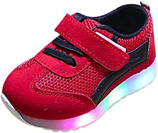 Toddler Baby Soft Luminous Outdoor Sneakers Sport, Girs Boys LED Light Shoes