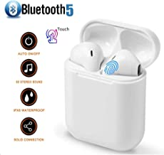 True Wireless Earphones Bluetooth Headphones Cordless Earbuds Mini Earphones Sports Headsets for iPhone Xs Max/XS/XR/X/8/7//6s for Galaxy Samsung S10/S9 Plus/S8/S8/S7/S7 iOS