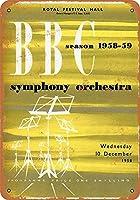 1958 BBC交響楽団グッズウォールアート