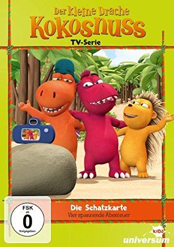 Der kleine Drache Kokosnuss - TV-Serie 6: Die Schatzkarte