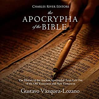 The Apocrypha of the Bible audiobook cover art
