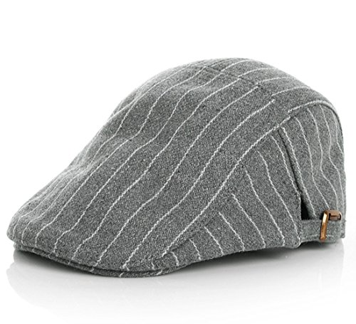 Kuyou  Gatsby Mütze Kinder Baskenmütze Baby Kids Kapppe Hüte , Einheitsgröße, Grau