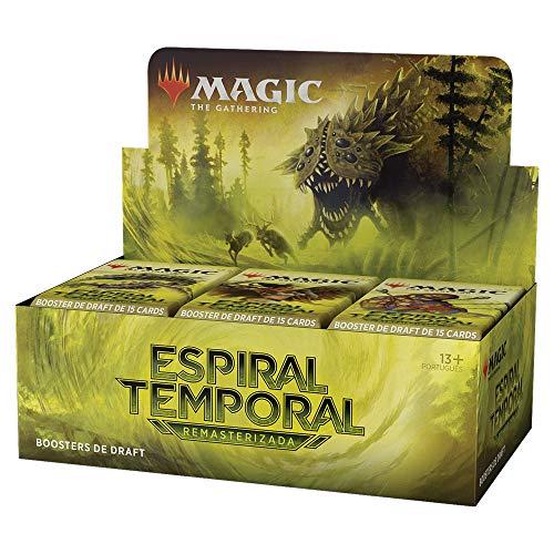 Magic: The Gathering - Caixa de Boosters de Draft de Espiral Temporal Remasterizada | 36 boosters (540 cards de Magic)