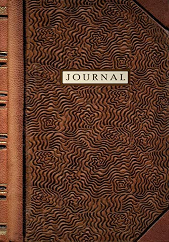 Journal: Vintage Book Style, Lined Notebook, 7