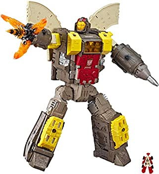 Transformers Toys Generations War for Cybertron Titan WFC-S29 Omega Supreme Action Figure - Converts to Command Center - Adults and Kids Ages 8 and Up 2-feet