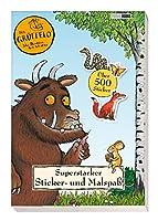 Der Grueffelo: Superstarker Sticker- und Malspass