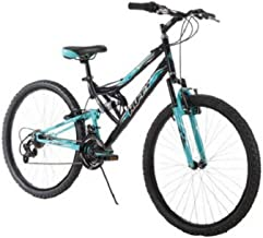 Huffy 26 Inch Women's Trail Runner Mountain Bike Dual Suspension Frame and..
