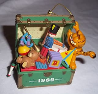 Enesco Treasury Garfield Mine, All Mine! 1989 Christmas Ornament