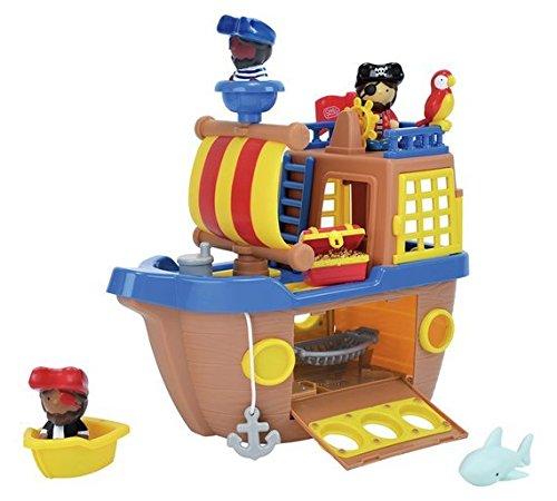 Nuevo Tots Town Pirate Ship Playset regalo de Navidad