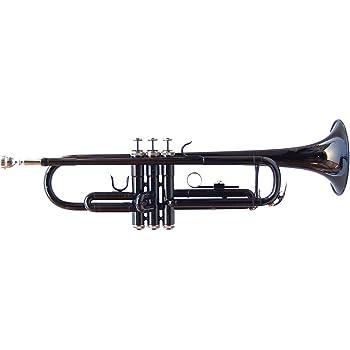 J. Michael TR430CN - Trompeta en SI bemol, color negro: Amazon.es ...