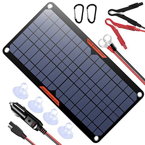 best solar car battery charger powiser