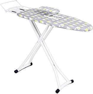ZB-KK Hôtel Table à Repasser, Multicouleur Table à Repasser Vapeur en métal Robuste Table à Repasser, réglable, 110 * 30 *...