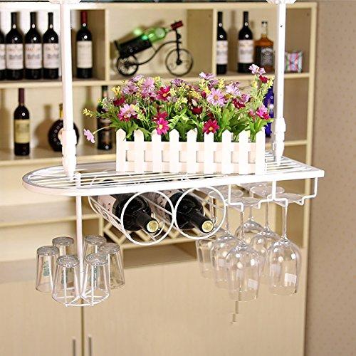 Dongyd Wine Rack, Colgando creativo estante del vino, estante de cristalería