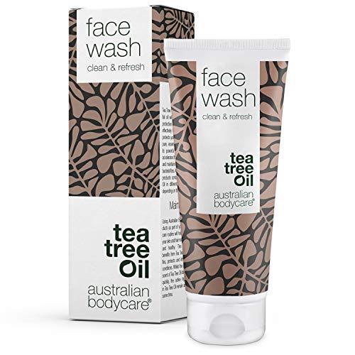 Australian Bodycare Face Wash 100ml | Anti Pickel Gesichtswaschgel für Männer & Frauen | Gesichtsreinigung mit natürlichem Teebaumöl bei unreiner Haut | Auch zur täglichen Pflege bei Akne