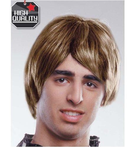 Perruque brune HQ Brit Pop / blonde