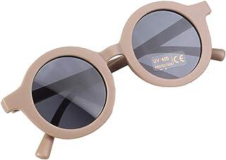 Almencla Óculos de sol para Crianças Rodada Bonito Óculos UV 400 Protection Acessórios Fotografia Ao Ar Livre Praia Crianç...