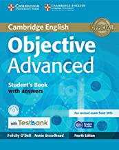Objective Advanced Student's Book with Answers with CD-ROM with Testbank Fourth edition