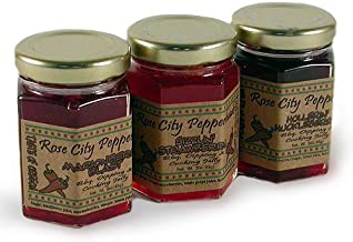 product image for Rose City Pepperheads Spicy Pepper Berry Glaze Trio 3oz.